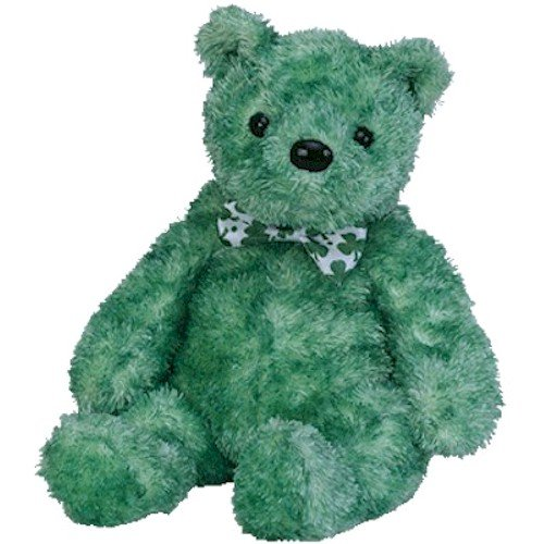 TY Beanie Baby - LUCK-e the Irish Bear (Internet Exclusive) - 1