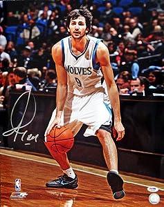 Ricky Rubio Signed Minnesota Timberwolves 16x20 Photo #1 PSA DNA
