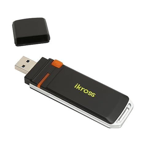 iKross Adaptateur USB 3.0 WiFi Dual Band 2.4G / 5G Sans fil