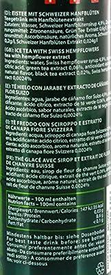 Chronic Ice - Herbal Iced Tea Hanfblüten Eistee THC-frei - 0,25l inklusive Pfand von NaturArt GmbH bei Gewürze Shop