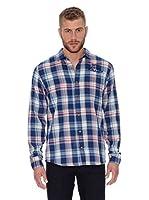 Oxbow Camisa Manga Larga Sondrio (Marino)