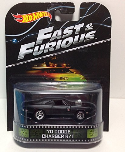 Hot Wheels Retro Fast & Furious '70 Dodge Charger R/T!!