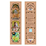 Hand-Rolled Incense Sticks- Herbal Perfumed Enchanted Rose, Nagchampa, Sandalwood, Loban Multi Flavor Pack Of...