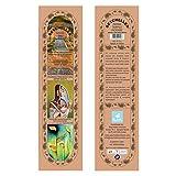Hand-Rolled Incense Sticks- Herbal Perfumed Enchanted Rose, Nagchampa, Sandalwood, Loban Multi Flavor Pack Of...