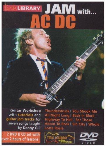 Lick Library Jam With Ac/Dc (2 Dvd+Cd) [Edizione: Regno Unito]