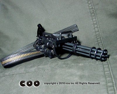 1/6スケール アメリカ陸軍 M134 ミニガン
