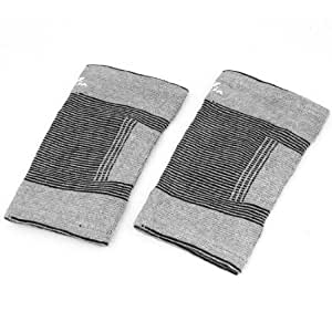 Black Gray Stretchy Pullover Elbow Support Protective Gear