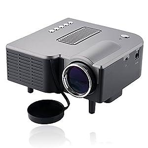"New UC28 PRO HDMI Mini HD Home LED Projector 60"" Cinema Theater, PC Laptop VGA Input USB"