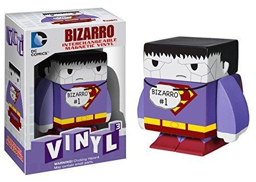 "Bizarro ~1.6"": DC Universe x Funko Vinyl Cubed Interchangeable Magnetic Figure - 1"