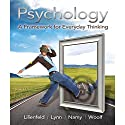 Psychology: A Framework for Everyday Thinking Audiobook by Scott O. Lilienfeld Narrated by Mina Sands