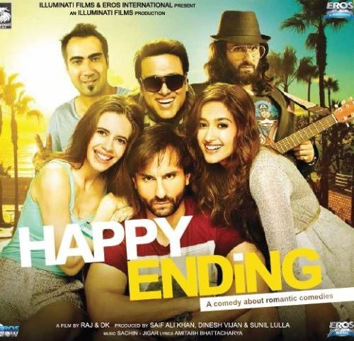 Happy Ending Hindi Audio CD