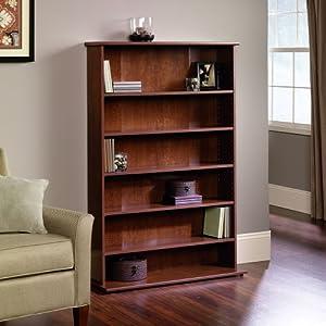 sauder graham hill multimedia storage tower autumn maple home entertainment centers. Black Bedroom Furniture Sets. Home Design Ideas