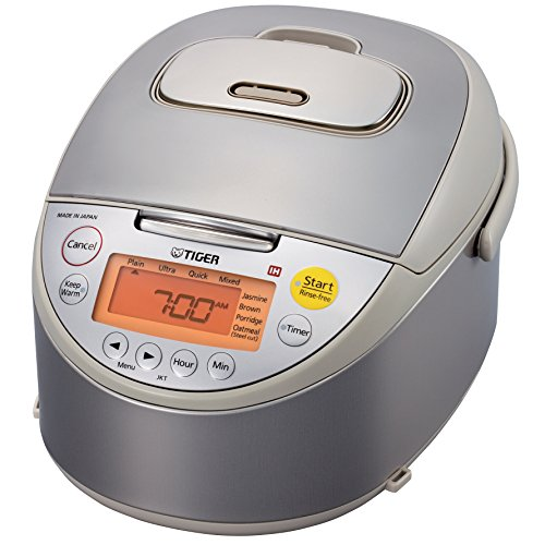 Tiger Corporation JKT-B10U C Induction Heating 5.5-Cup (Uncooked) Rice Cooker and Warmer