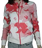 516nHvsrD%2BL. SL160  Roxy Womens Bliss Full Zip Up Hoodie Pink &amp; White 474023 NAT