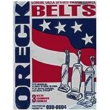 Oreck XL Upright Belt 3 in a pack