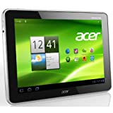 #3: Acer Iconia A700 25,7 cm (10,1 Zoll) Tablet-PC (Full HD, NVIDIA Tegra 3 Quad-Core, 1,3GHz, 1GB RAM, 32GB Flashspeicher, Bluetooth, Android 4.0) silber
