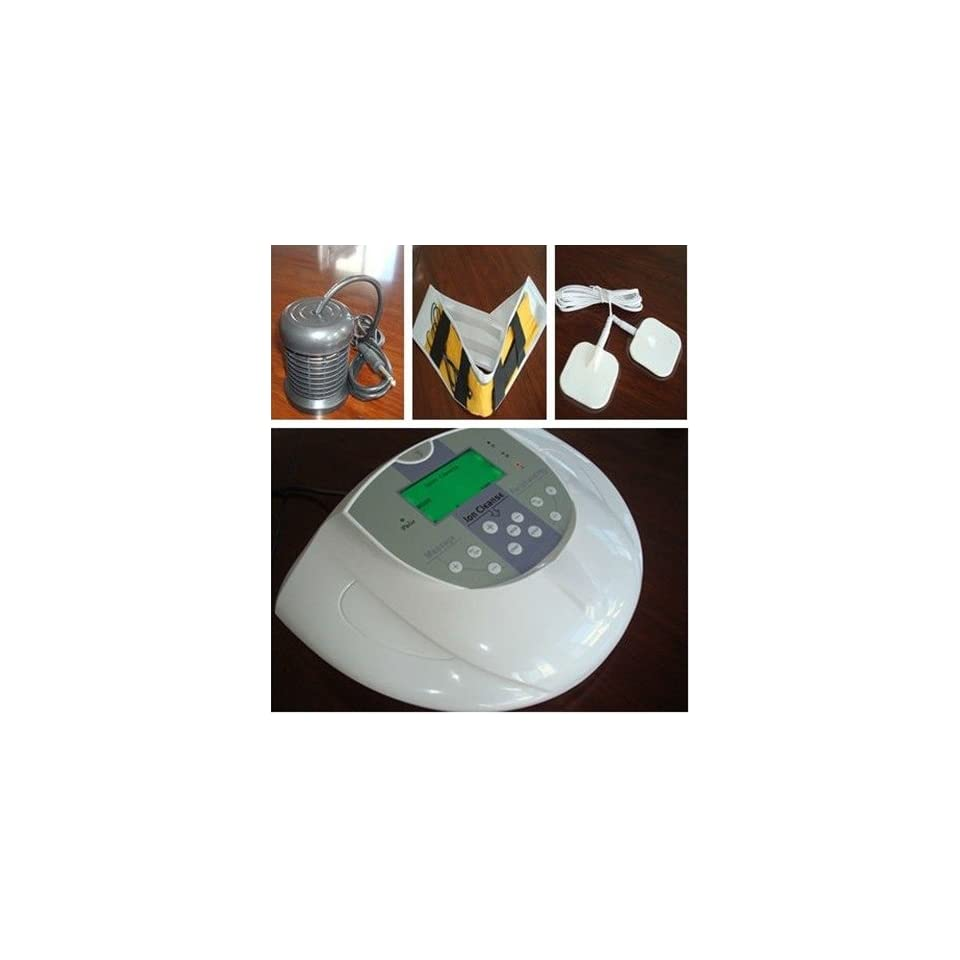 For One Person Ion detox foot bath/Ion Cleanse(Massage+Infrared ray)   B01 With Aluminum Case