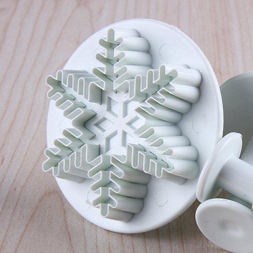 3pz stampo per torte dolci in plastica a forma di fiocco - Utensili da cucina per dolci ...