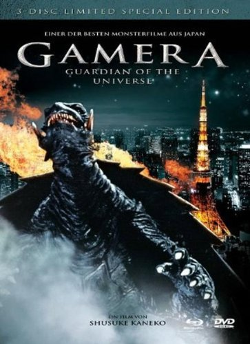 Gamera - Guardian of the Universe (2 DVDs + Blu-ray)