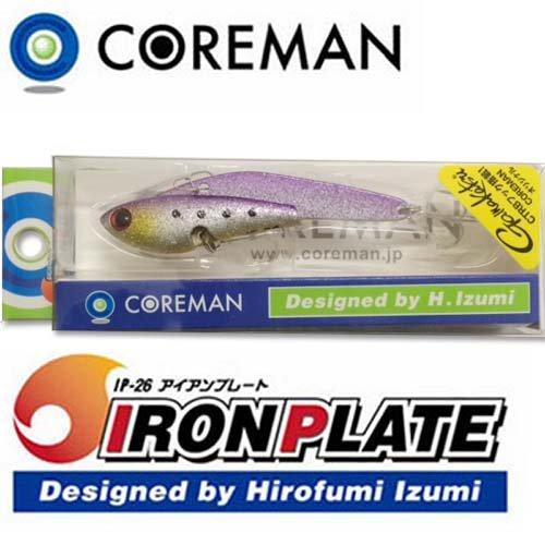 COREMAN(コアマン) ルアー IP-26 アイアンプレート #032マズメイワシラメの商品画像