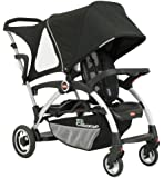 Joovy Ergo Caboose Tandem Stroller Black (Discontinued by Manufacturer)