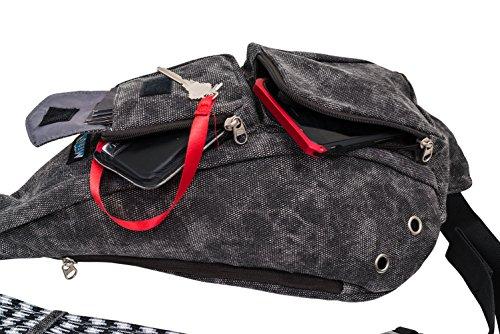 Fantastic Yoga Backpack For Women And Men  Waterproof Crossbody Sling Bag EDC