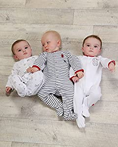 The Essential One - Pijama para bebé - Paquete de 3 - ESS103 en BebeHogar.com