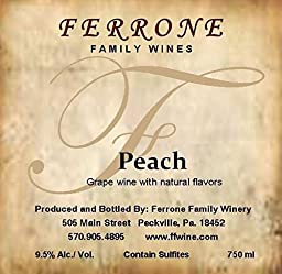NV Ferrone Family Winery Peach 750 mL