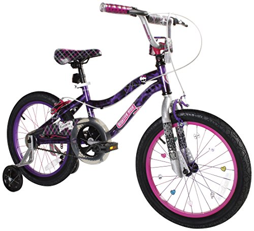 Monster-High-Girls-Bike-18-Inch-BlackPurplePink