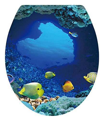 Dnven 13 W X 15 H Tropical Fish Undersea Ocean Under Water Bathro