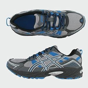 ASICS Men's GEL-Venture 4 Running Shoe,Charcoal/Carbon/Blue,8 M US