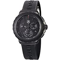 TAG Heuer Men's CAU1114.FT6024 Formula 1 Black Dial Black Strap Chronograph Watch by TAG Heuer