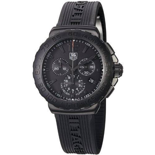 TAG Heuer Men's CAU1114.FT6024 Formula 1 Black