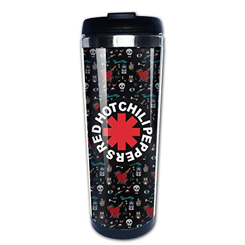 Mensuk Red Hot Chili Peppers Logo RHCP Vacuum Cup Coffee/Travel Mugs