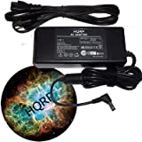 HQRP AC Adapter Charger Power Supply Cord for Gateway Solo 2500 5100 5300 9100 9300 / HP Pavilion ZE5000 Zt1000 Laptop / Notebook Replacement 90W + High Quality Power Cable + HQRP Coaster ~ HQRP