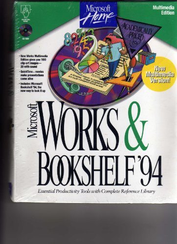 Microsoft Works & Bookshelf 94 AE