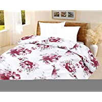 Lali Prints Luxury Pink Quilt A.C Blanket Single Bed Size Dohar