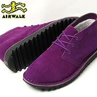 AIR WALK DESERT BOOT エアウォーク デザートブーツ パープル(並行輸入品)