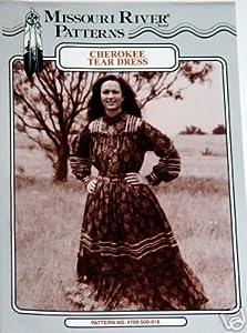*Cherokee Tear Dress Sewing Pattern