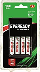 Eveready Recharge AA BP4C 700 NIMH Battery (1000 series)
