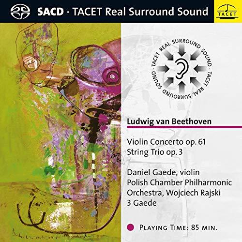 SACD : BEETHOVEN / GAEDE / RAJSKI - Violin Concerto / String Trio
