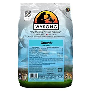 WYSONG PET NUTRITIONAL PRODUCTS 858003 4-Pack Growth Dry Food for Dogs, 5-Pound