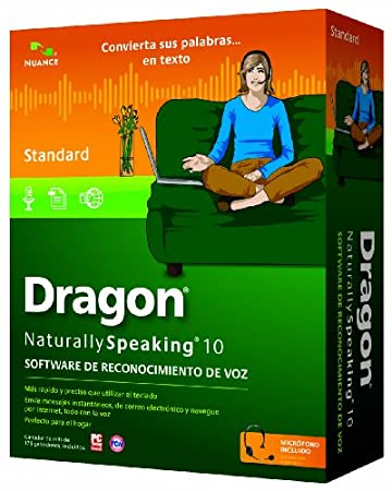 Dragon NaturallySpeaking 10 Standard Spanish