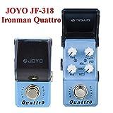 Paleo Joyo JF-318 ironman quattro retardo digital de mini guitarra pedal de efecto
