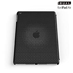 IRUAL MESH SHELL CASE for iPad Air - Black