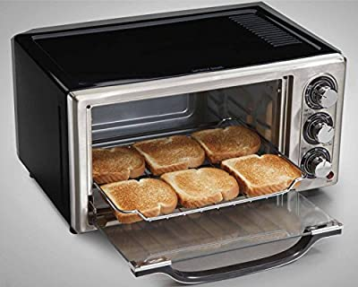 Stainless Steel Countertop Broil/Toaster Oven & Extra-Wide 2-Slice Toaster by Hamilton Beach