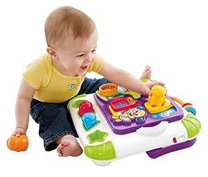 (宝宝)Fisher-Price Apptivity Creation 费雪儿童欢笑创作中心玩具 $19.99