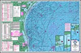 Waterproof Topo Map of the Lower Gulf of Mexico - With GPS Hotspots