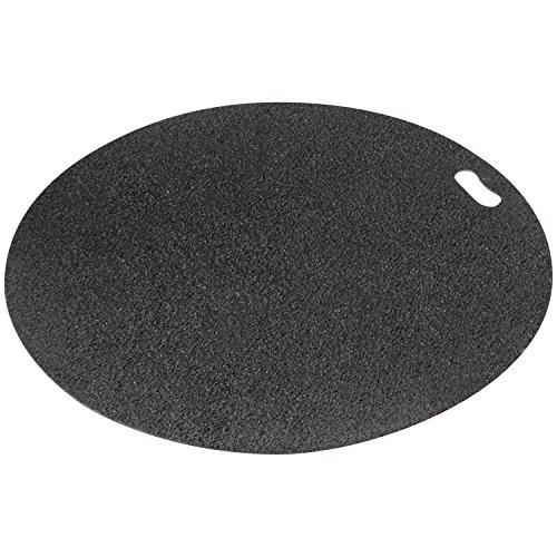 The Original Grill Pad Black Grill Pad, Round (Fire Mat For Fireplace compare prices)