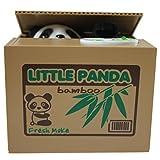 いたずらBANK 可愛い貯金箱おもちゃ パンダ